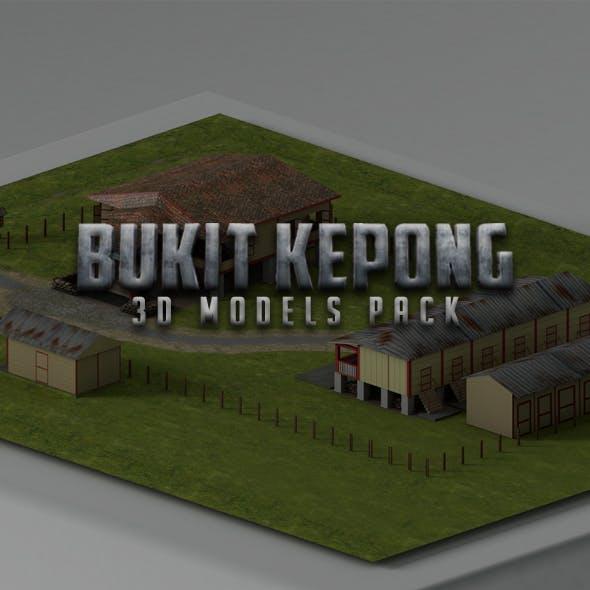 Bukit Kepong Buildings Pack