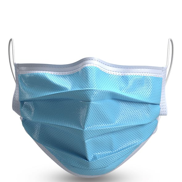 3D Surgical face Mask