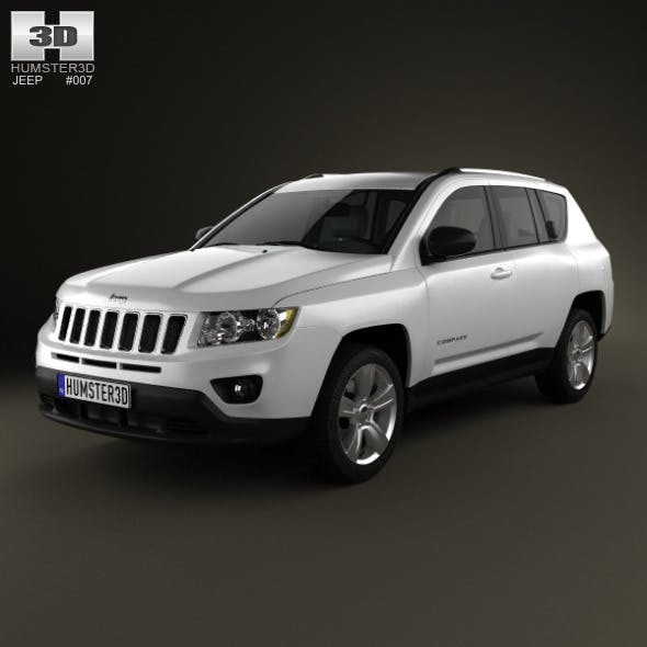 Jeep Compass 2012 - 3DOcean Item for Sale