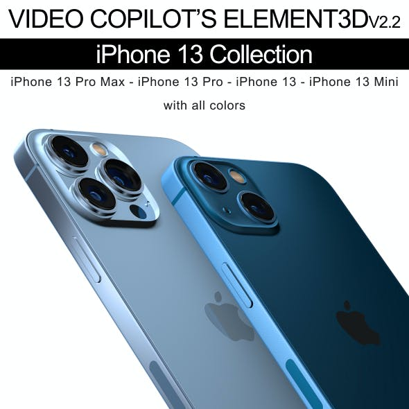 Element3D - iPhone 13 Collection