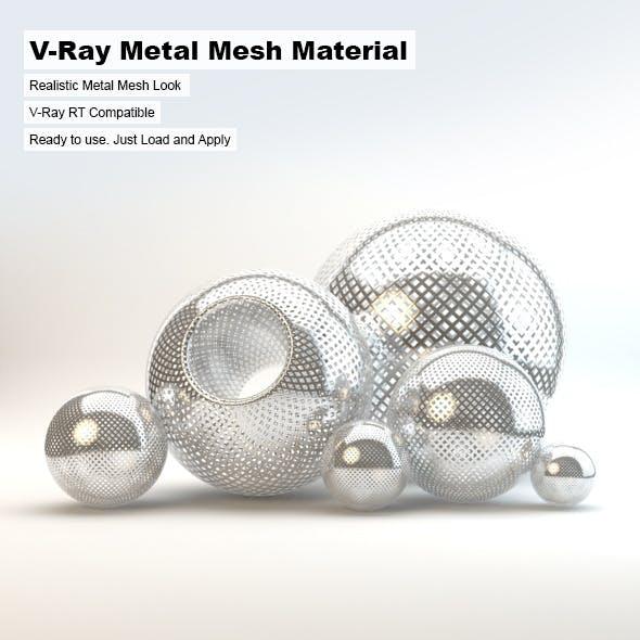 V-Ray Metal Mesh Material