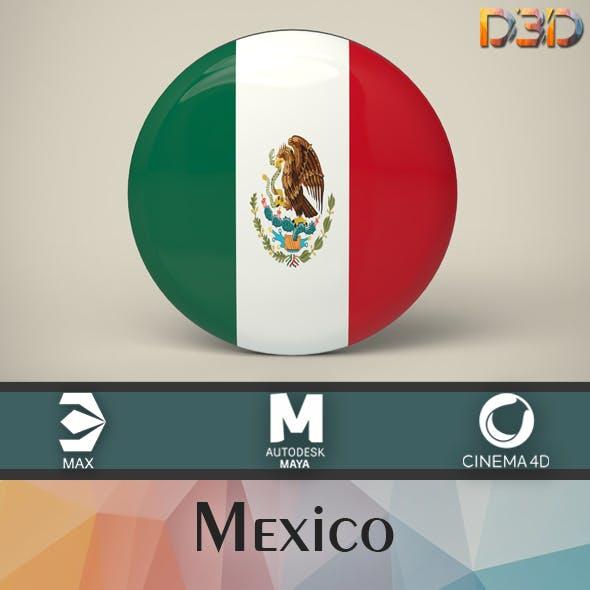 Mexico Badge