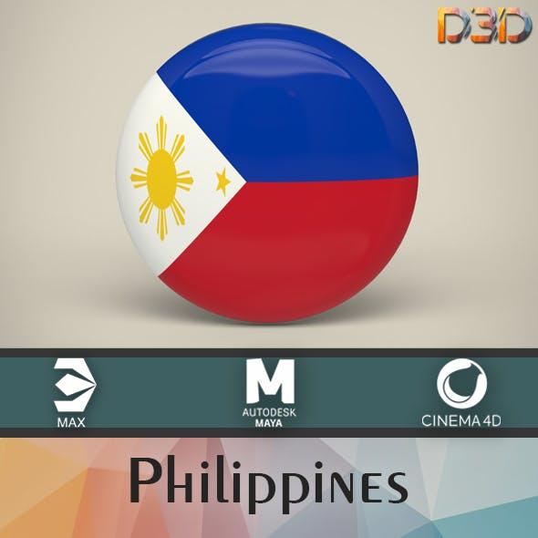 Philippines Badge
