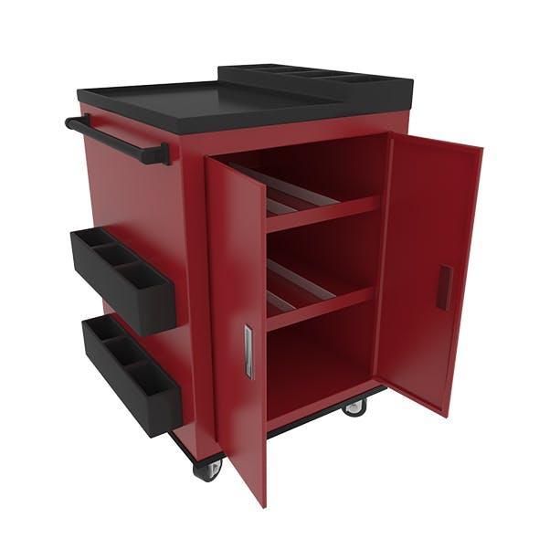 Workshop Service Trolley 3 - 3DOcean Item for Sale