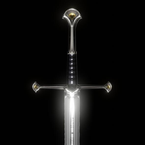 Anduril, Aragorn's sword