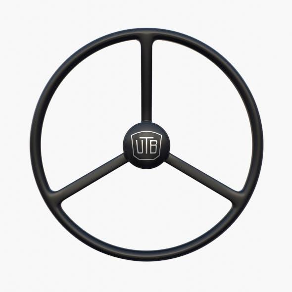 U650 Tractor steering wheel - 3DOcean Item for Sale