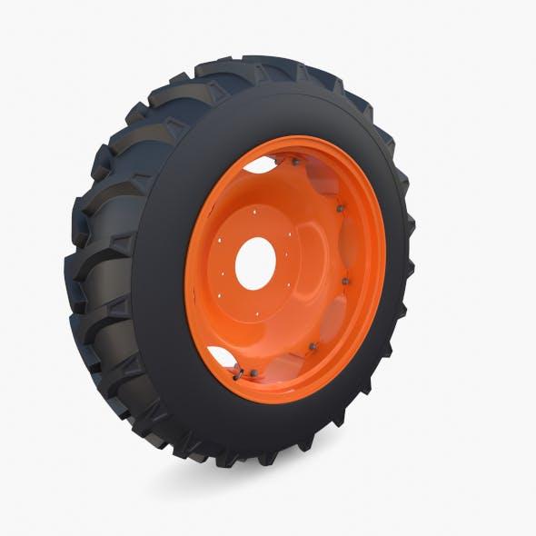 Full Tractor wheel v2 - 3DOcean Item for Sale