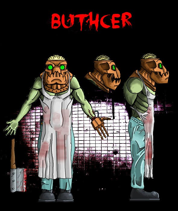 Butcher - 3DOcean Item for Sale