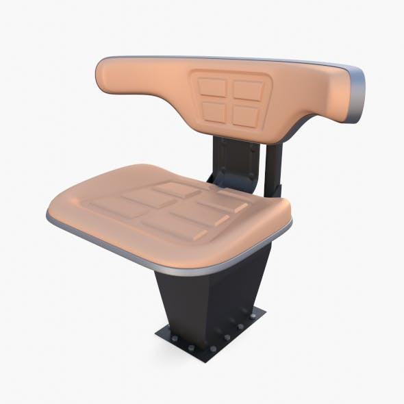 Tractor seat - 3DOcean Item for Sale