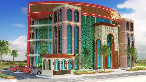 Oriental Building - 3DOcean Item for Sale