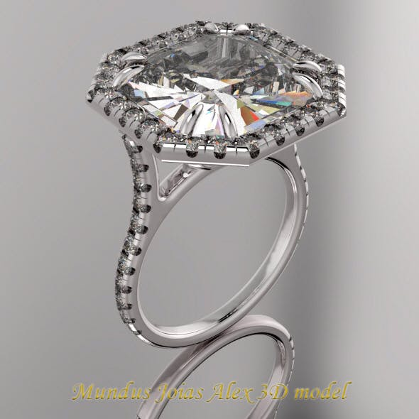 MUNDUSJOIAS Ring Love Collection - 3DOcean Item for Sale