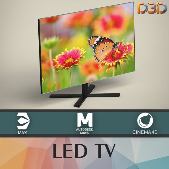 LED TV - 3DOcean Item for Sale