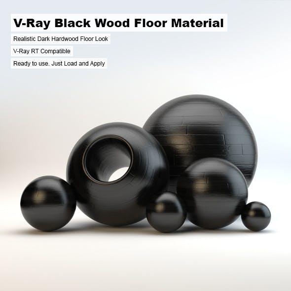 V-Ray Black Wood Material