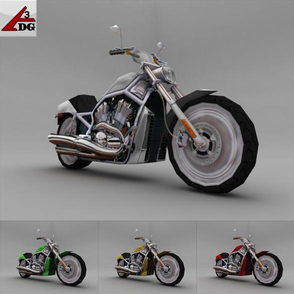 2002-harley-davidson-v-rod - 3DOcean Item for Sale