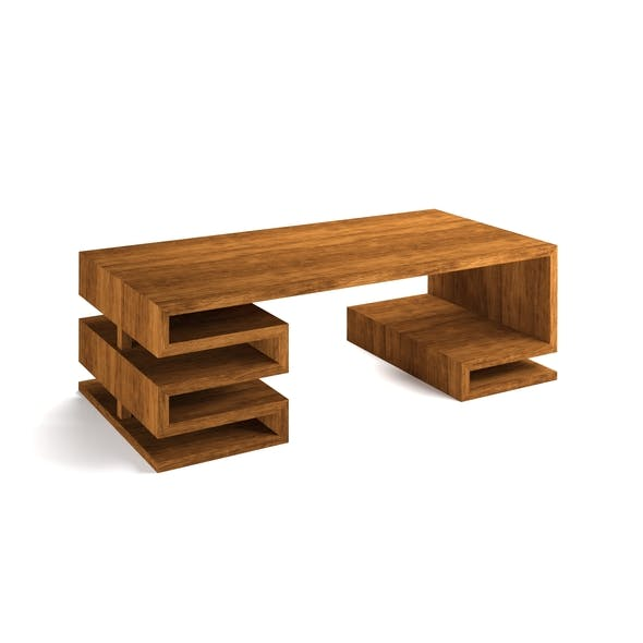 Wooden Office Counter