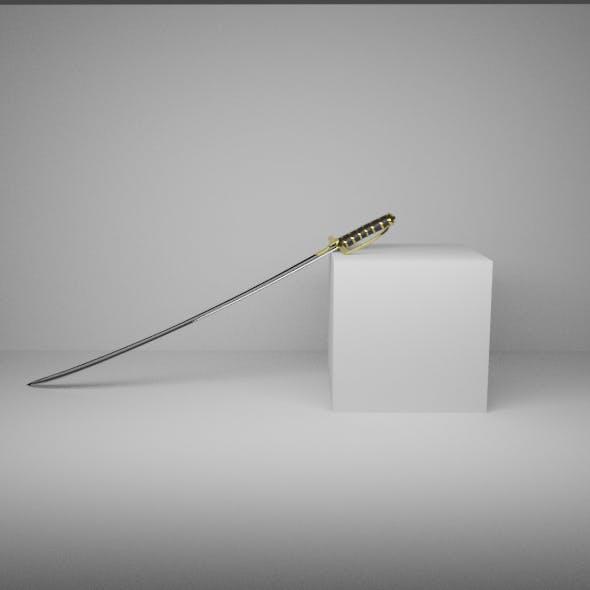 Polish sabre - 3DOcean Item for Sale
