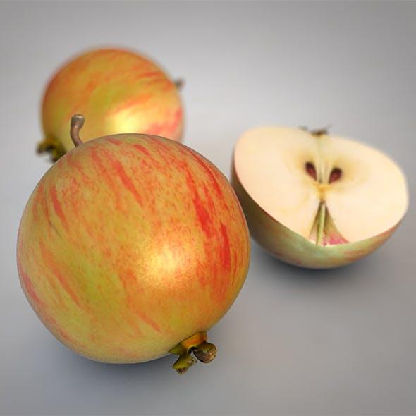Crab apples 3d model
