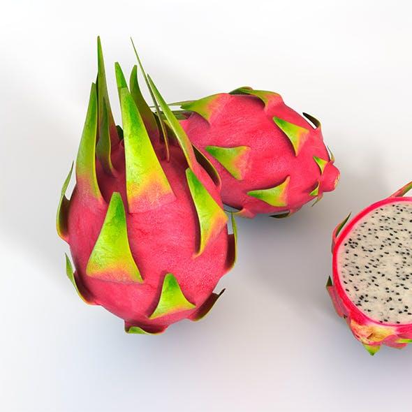 Dragon Fruit 3d model
