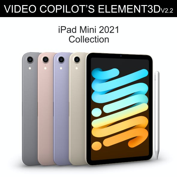 Element3D - iPad Mini 2021