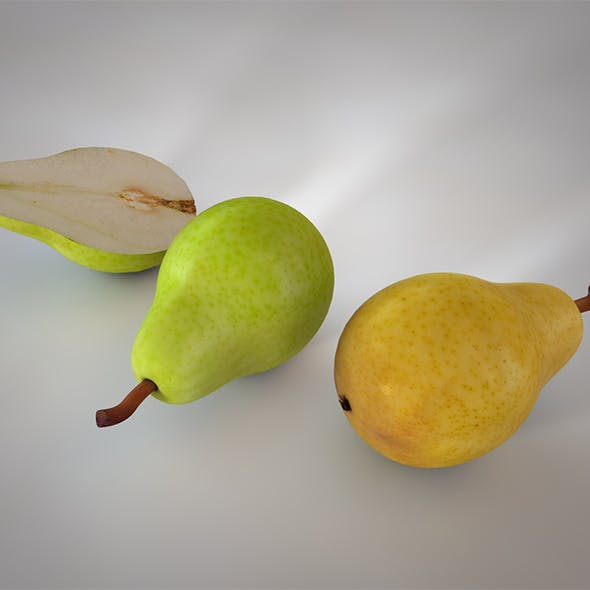 Pear V2 3d model
