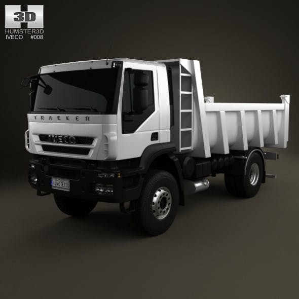 Iveco Trakker Dump Truck 2-axis 2012 - 3DOcean Item for Sale