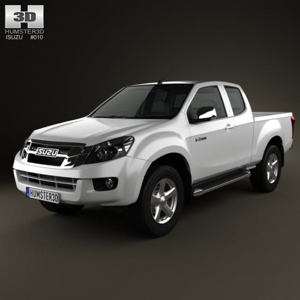 Isuzu D-Max Extended Cab 2012 - 3DOcean Item for Sale