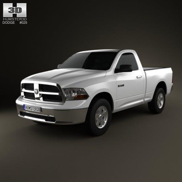 Dodge Ram 1500 Regular Cab SLT 6-foot 4-inch Box 2 - 3DOcean Item for Sale
