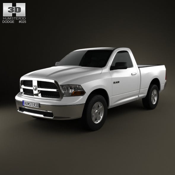 Dodge Ram 1500 Regular Cab SLT 6-foot 4-inch Box 2