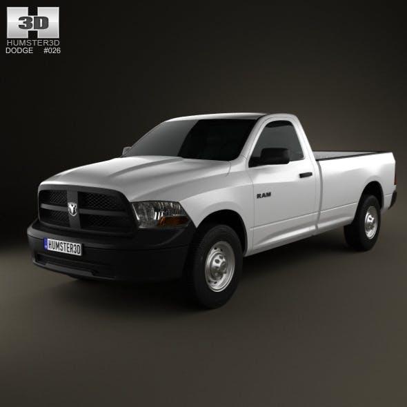 Dodge Ram 1500 Regular Cab ST 8-foot Box 2012 - 3DOcean Item for Sale