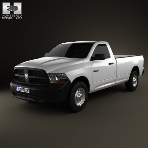 Dodge Ram 1500 Regular Cab ST 8-foot Box 2012