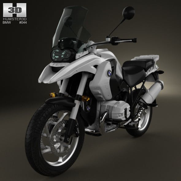BMW R1200GS 2004 - 3DOcean Item for Sale