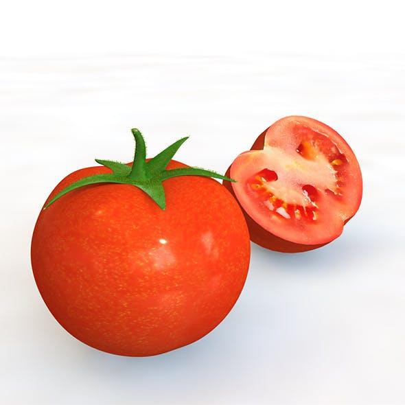 Red Tomato 3d model