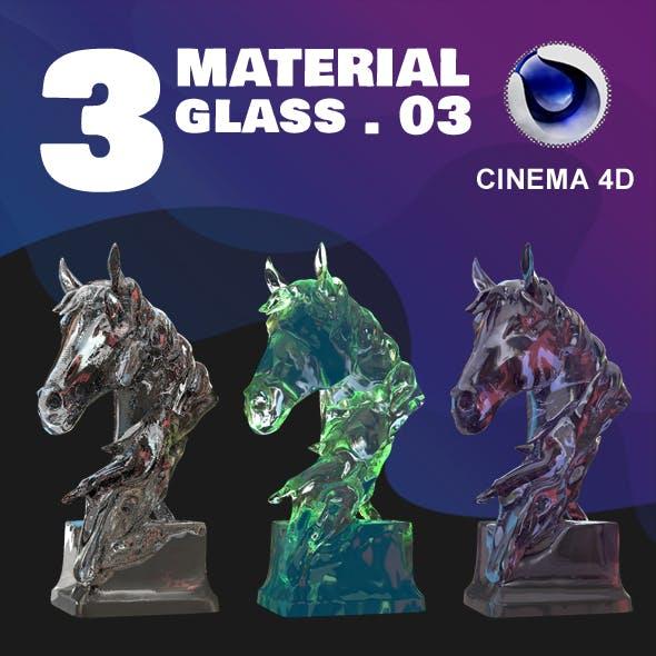 C4D - 3 GLASS MATERIAL_NO3