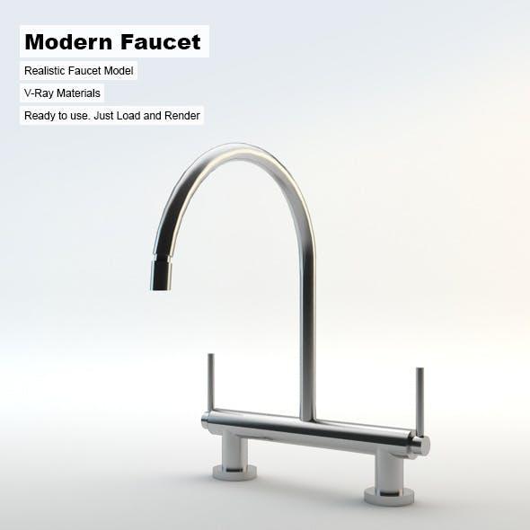 Modern Faucet - 3DOcean Item for Sale