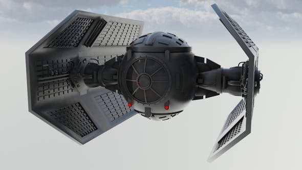 Vaders Tie Fighter - 3DOcean Item for Sale