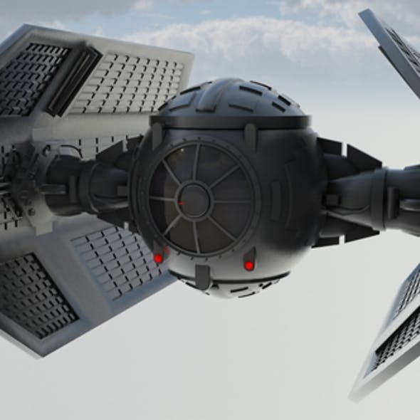 Vaders Tie Fighter