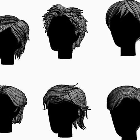Stylized Hair Factor V2