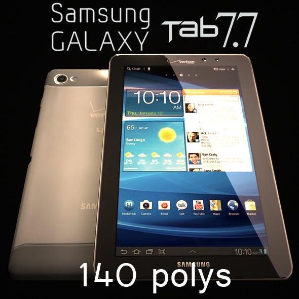 Samsung Galaxy Tab 7.7 Low Poly 140