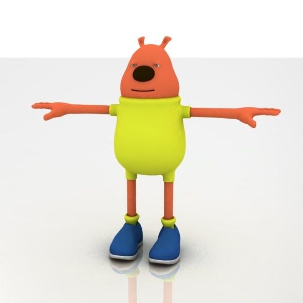 Cute Cartoon Character - 3DOcean Item for Sale