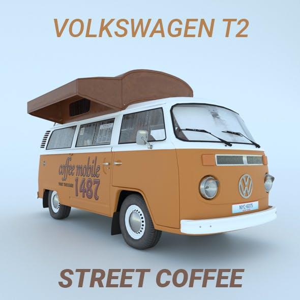 Volkswagen T2 / Street coffee