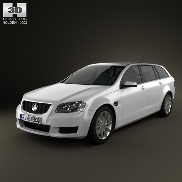 Holden VE Commodore Sportwagon 2012 - 3DOcean Item for Sale