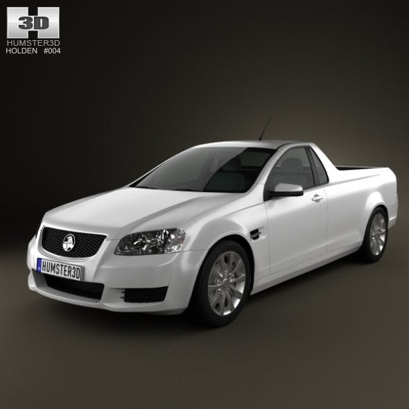 Holden VE Commodore UTE 2012 - 3DOcean Item for Sale