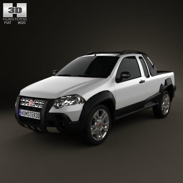 Fiat Strada Crew Cab Adventure 2012 - 3DOcean Item for Sale