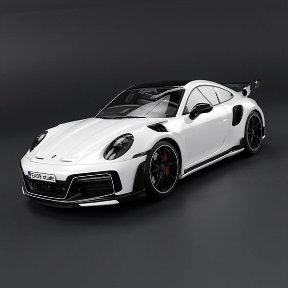 2022 Porsche 911 Turbo S Tuned