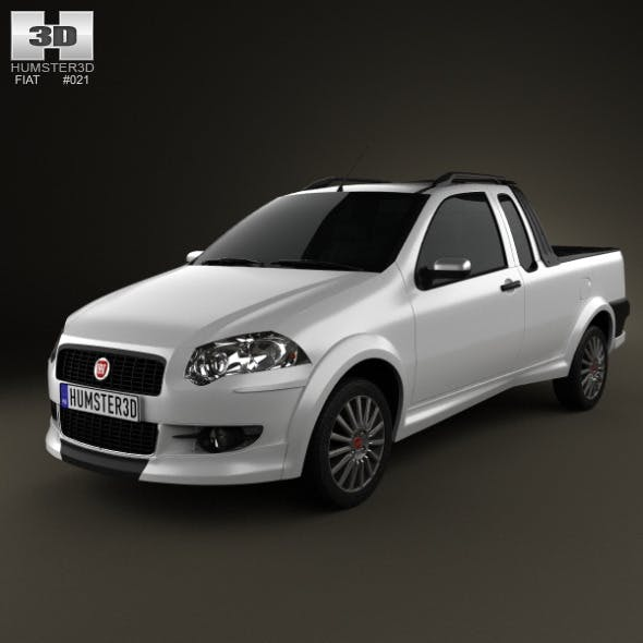 Fiat Strada Crew Cab Sporting 2012