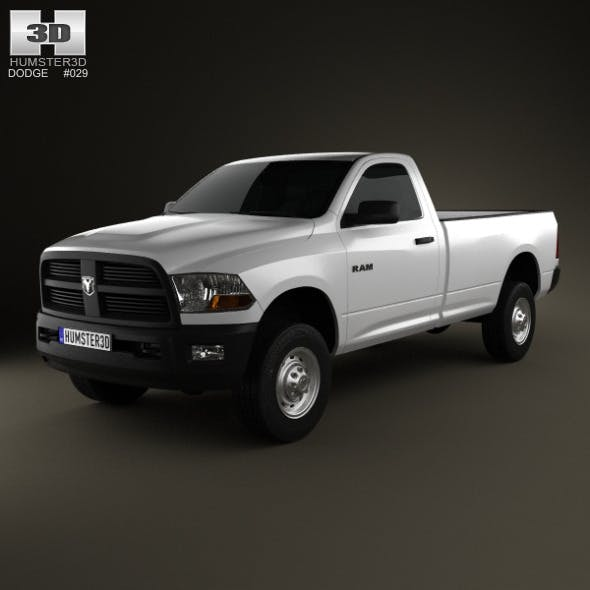 Dodge Ram 2500 Regular Cab ST 6-foot 4-inch Box 20