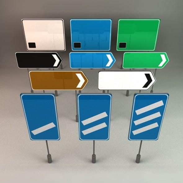 UK Motorway Signs