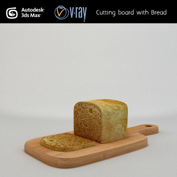 Cutting board with Bread