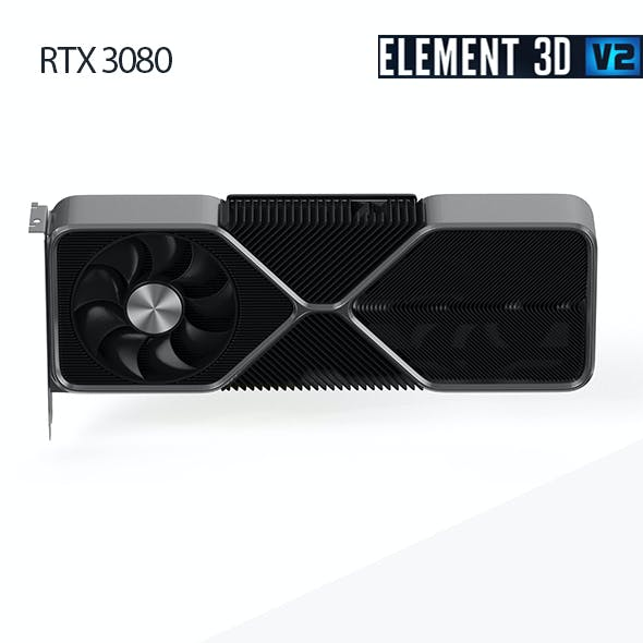 Nvidia RTX 3080 - Element 3D