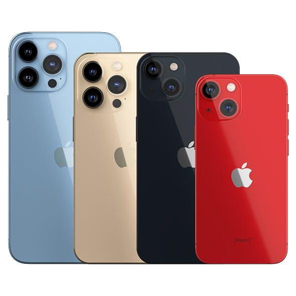 IPhone 13 and IPhone 13 Pro and IPhone 13 Mini and IPhone 13 Pro Max